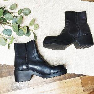 Vintage 90's Nine West Chunky Grunge Platform Boot